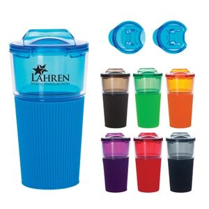 16 Oz. Tumbler With Sleeve -