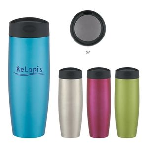 16 Oz. Metallic Sorbet Stainless Steel Tumbler -