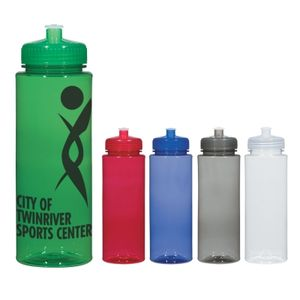 32 Oz. Hydroclean? Sports Bottle With Push/Pull Lid