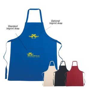 100% Cotton Apron (Embroidered)