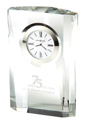 Quest - Crystal award clock