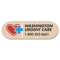 Bandage 1 1/4 x 4 - Healthcare Stock Magnets