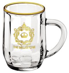 10 oz. Optic Haworth Glass Coffee Mug - 10 oz. Optic Haworth Glass Coffee Mug