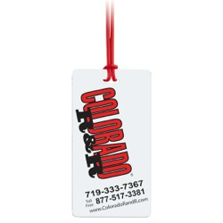 Insta-Lam Self-Laminating Luggage Tag - Insta-Lam Self-Laminating Luggage Tag