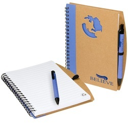 Globe Window Notebook