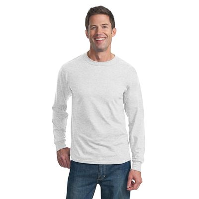 Fruit of the Loom 174  Heavy Cotton HD174 100% Cotton Long Sleeve T-Shirt. 4930 -