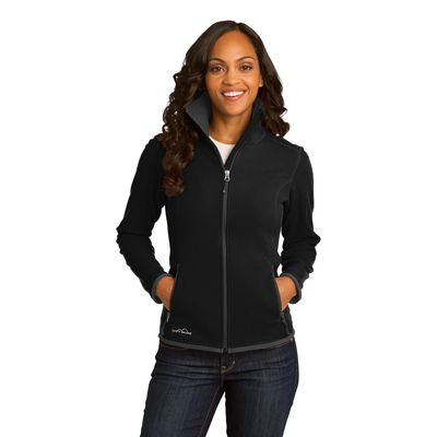 Eddie Bauer 174  Ladies Full-Zip Vertical Fleece Jacket. EB223 -