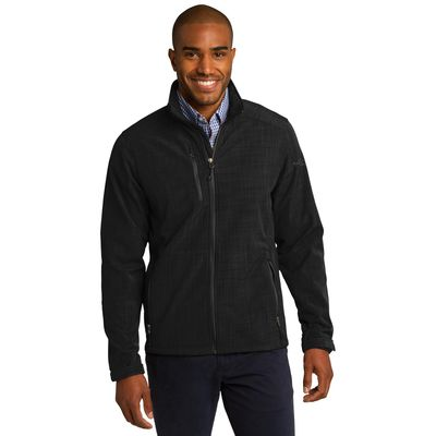 Eddie Bauer 174  Shaded Crosshatch Soft Shell Jacket. EB532 -