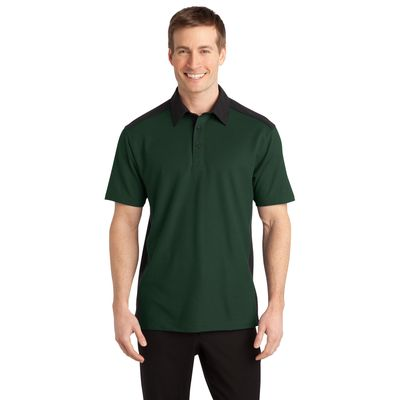 Port Authority 174  Silk Touch153 Colorblock Polo. K529 -