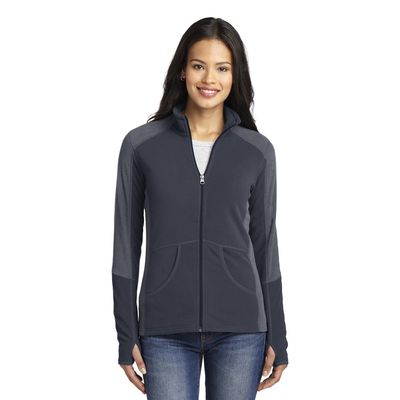 Port Authority 174  Ladies Colorblock Microfleece Jacket. L230 -
