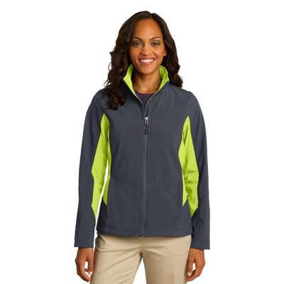 Port Authority 174  Ladies Core Colorblock Soft Shell Jacket. L318 -