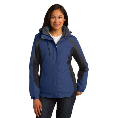 Port Authority 174  Ladies Colorblock 3-in-1 Jacket. L321 -