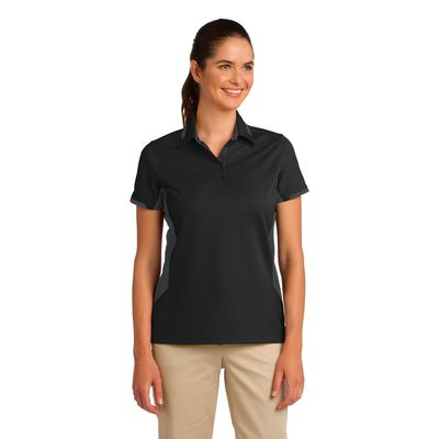 Port Authority 174  Ladies Dry Zone 174  Colorblock Ottoman Polo. L524 -