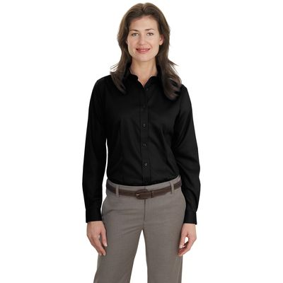 Port Authority ®  Ladies Long Sleeve Non-Iron Twill Shirt.  L638