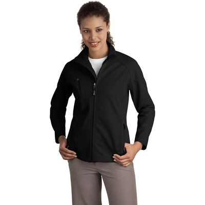 Port Authority ®  Ladies Textured Soft Shell Jacket. L705