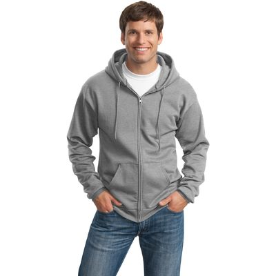Port & Company ®  - Classic Full-Zip Hooded Sweatshirt. PC78ZH