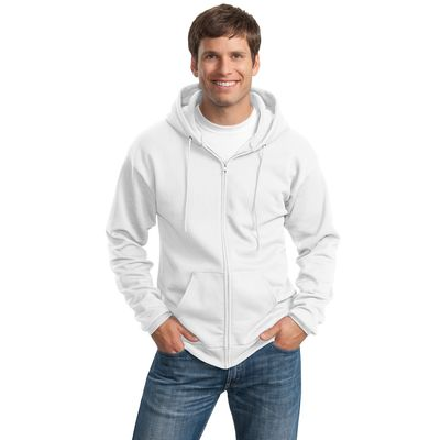 Port & Company ®  -  Ultimate Full-Zip Hooded Sweatshirt.  PC90ZH