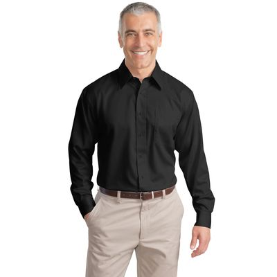 Port Authority ®  Long Sleeve Non-Iron Twill Shirt.  S638