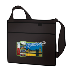 "Esprit Tradeshow Tote Full-Color Transfer 14""W x 7""D x 12""H (1-Sided) -"