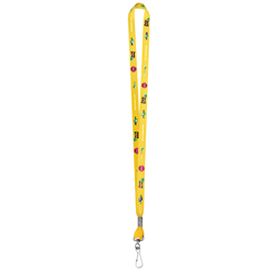 "1/2"" Standard Lanyard w Swivel Hook (Full-Color, 2-Sided) -"
