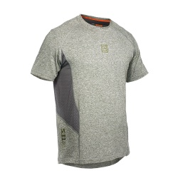 5.11 RECON Performance Top - This premium 5.11 Tee is crafted from a specialized polyester and spandex blend that provides maximum form-fitting maneuverability and lasting comfort. Our premium quality graphical enhancements offer added style  and remain bright and true  wash after wash.