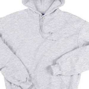 1254 Badger Adult Hooded Blend Sweatshirt  - 1254-Ash (60/40)