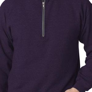 18800 Gildan Adult Heavy BlendVintage 1/4-Zip Cadet Collar Sweatshirt
