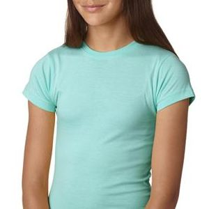2616 LA T Girls' Fine Jersey Longer Length T-Shirt
