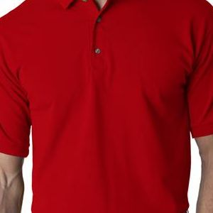 2800 Gildan Adult Ultra CottonTM Jersey Polo  - 2800-Red