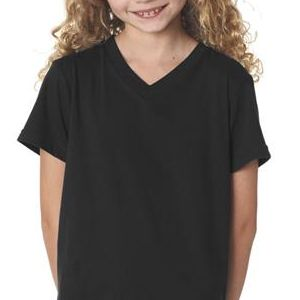 3005Y Bella+Canvas Youth Jersey V-Neck Tee