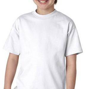 5450 Hanes Youth Tagless® Cotton Tee  - 5450-White