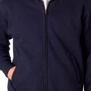 7175 Weatherproof Adult Cross Weave® Warm-Up Blend Sweatshirt  - 7175-Navy