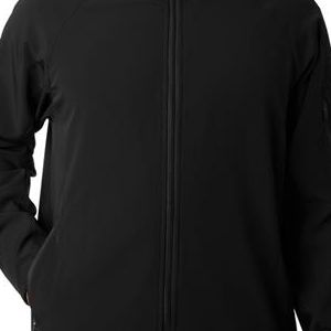 8271 UltraClub® Adult Lightweight Blend Soft Shell Jacket  - 8271-Black