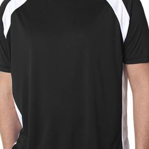 8421 UltraClub® Adult Cool & Dry Sport Two-Tone Performance Tee