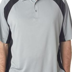 8427 UltraClub® Adult Cool & Dry Sport Performance Color Block Interlock Polo