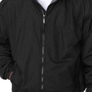 8921 Men's UltraClub® Adventure All-Weather Jacket  - 8921-Black/ Charcoal