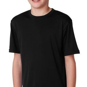 CW24 Champion Youth Double Dry® Interlock Polyester T-Shirt  - CW24-Black