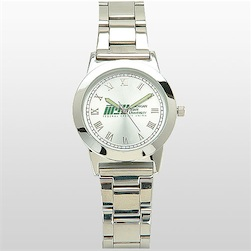 All Silver Watch