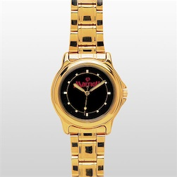 Gold Watch with Gold Band