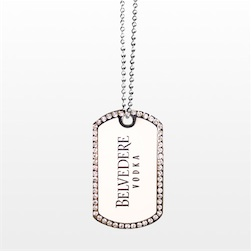 Die Struck Colorfill Dog Tag