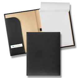 Tucson Padfolio w/Pen Loop and Business Card Holder - Tucson Padfolio w/Pen Loop and Business Card Holder