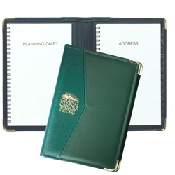 Microline Planner/Address Book - Made in USA Union Bug Available