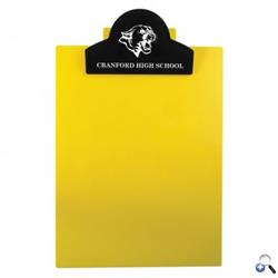Round Top Letter Clipboard - Eco-Colors made with 100% home recycled material.