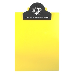 Letter Clipboard With Round Top Clip