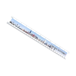 "12 Ruler With Digital Imprint"" -"