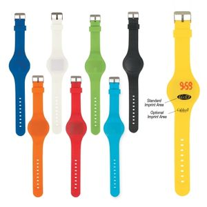 Round Unisex Touch-Activated Sports Watch -