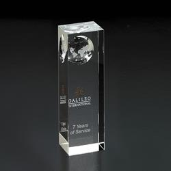 Atlas Pillar - Optically Perfect Award Globes