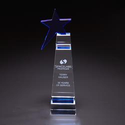 Blue Star - Optically Perfect Award Stars