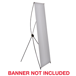 "70"" Orion Banner Display Hardware Only - You'll feel like a shining star when you use this easy to set-up display. Goes from the bag to assembled in only 30 seconds!Lightweight with strong fiberglass arms and plastic banner hooksAdjustable high-impact plastic support hub provides multiple viewing anglesFlexible arms pull banner taut and create stabilityRecommended for tradeshows and presentationsWarranty: Orion is a high-value product that will work for your event, but due to the nature of the product, it is not covered by our standard one year wa"